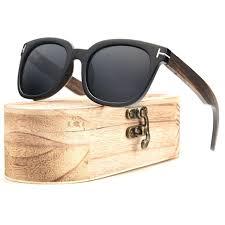 ablibi mens wooden sunglasses polarized real ebony wood womens shades in wood box oculos de sol masculino sunglasses