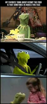 kermit driving face.  Driving Best Part Of Kermit The Frog  In Driving Face I