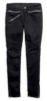 moto womens jeans. harley-davidson® women\u0027s skinny moto low-rise slim jeans, black 96064- womens jeans