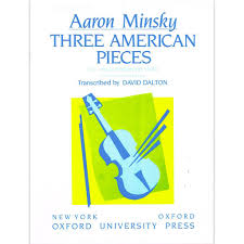 Minsky - 3 American Pieces - Viola Oxford 9780193858459