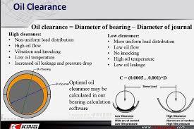 Engine Bearing Clearance Chart Ron Sledge King Bearings For Custom Engines
