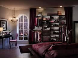 Maroon Bedroom Best Closet Ideas Small Space Wooden Cabinet Wall Set Maroon