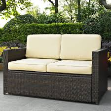 Amazoncom Crosley Furniture Palm Harbor Outdoor Wicker Glass Top Palm Harbor Outdoor Furniture