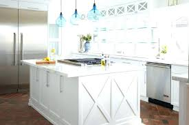 coastal pendant lights contemporary glass pendant lights kitchen beach style with glass front cabinets blue glass