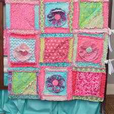 Best Rag Quilt Pattern Products on Wanelo & PATTERN, Rag Quilt with Ruffle Flower for Baby Size Blanket for Crib or Toddler  Bed Adamdwight.com