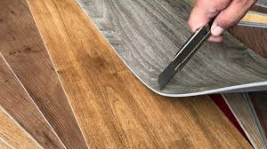 new style of vinyl floor tiles that mimic the look of wood
