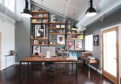 modern rustic office. Chic Inspiration Modern Rustic Office Incredible Decoration Image Gallery Collection R