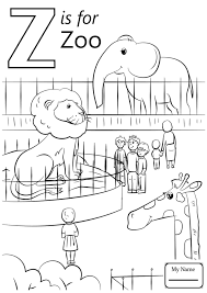 Letter Z Coloring Pages Page Image Clipart Images Free Printable ...