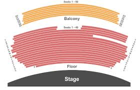 Yavapai College Performance Hall Seating Chart Prescott