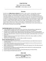 Resume Template Internship – Foodcity.me