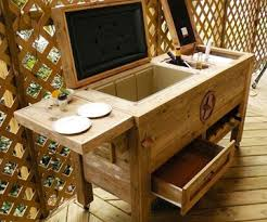 patio bar. Modren Patio Rustic Patio Bar U0026 Cooler Inside O