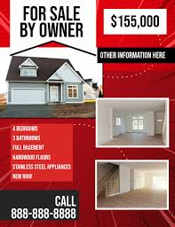 for sale by owner brochure for sale by owner real estate flyer template postermywall