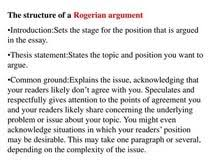 rogerian argument essay example health and social coursework rogerian argument essay example