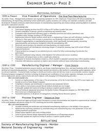 Gallery Of Resume Examples Engineer