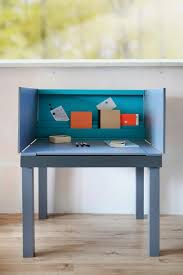 This is a multifunctional desk by Agata Nowak for people who have a small  living space. It can be transformed into a dining table from a work desk.
