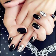 fake nails wearable detachable nail art