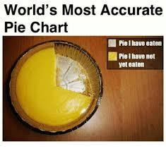 Worlds Most Accurate Pie Chart Piel Have Eaten Piel Have