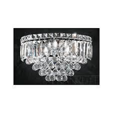 franklite fl2020 3 constellation flush crystal chandelier love4lighting ceiling crystal chandelier