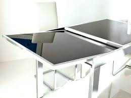 glass dining table extending extendable glass top dining table extendable glass dining room table dining glass