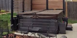 Privacy deck rail Cheap Hot Tub Enclosure Privacy Deck Railing Flexfence Louvered Deck Railings Flexfence Louver System