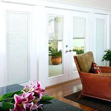 exterior door with blind steel entry door blinds between glass enclosed built in window treatments for