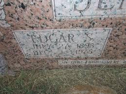 Edgar Scott Jennings (1898-1975) - Find A Grave Memorial