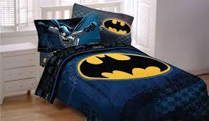 batman dc comic full double size bed comforter sheet set bed in bag bundle