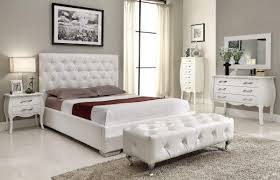 white or black furniture. White Or Black Crocodile Leather Bedroom Set With Crystals Furniture C