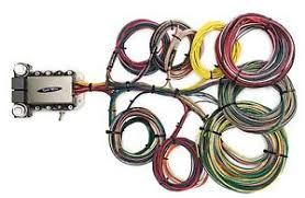 kwik wire 20 circuit street rod wiring harness gm ford mopar ebay 20 circuit wiring harness kit diagram image is loading kwik wire 20 circuit street rod wiring harness