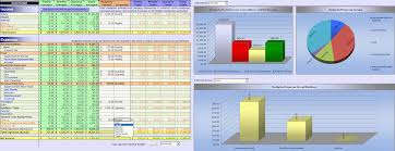 personal finance excel financial statement template excel