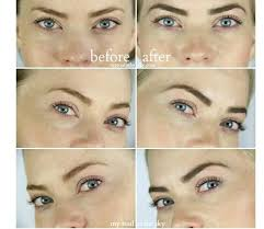 eyebrow dye recipe 2 aloe gel and activated charcoal mix