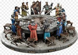 king arthur and his knights of the round table king arthur round table miniature png
