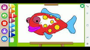 Game tô màu động vật, đồ chơi cho bé - Coloring Book game - Game vui cho bé