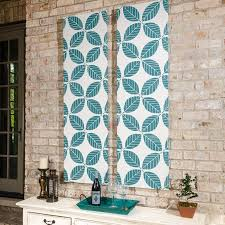 how to make outdoor fabric wall art