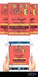 Garage Sale Flyers Free Templates Garage Sale Flyer Template Size Flyer Garage Sale Flyer Template