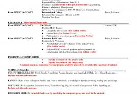 American Resume Format For Freshers Download Now American Cv Example