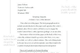 Heading Format For College Essay Scholarship Essay Format Example