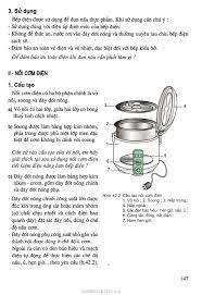 SGK Công Nghệ 8 - Bài 42. Bếp điện, nồi cơm điện