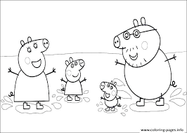 Color Peppa Pig Coloring Pages Online Pig Best Of Pig Coloring Pages