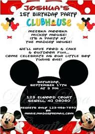 Diy Mickey Mouse Invitation Template Free – Worldbestcat.info