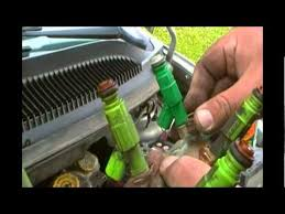 changing a fuel injector 2002 dodge caravan youtube 2002 dodge caravan engine wiring harness at 2002 Dodge Caravan Engine Wiring Harness