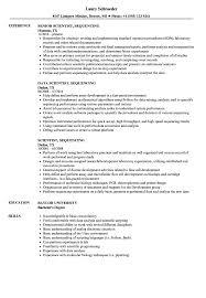 Bioinformatics Resume Scientist Sequencing Resume Samples Velvet Jobs