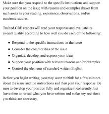 gre issue essay examples sample essays for in arguments image college essay papers argument essay sample