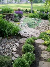 Small Picture Dry Garden Landscaping Ideas Dry creek bed landscape ideas