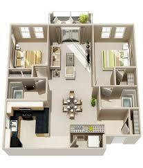 3d bungalow house plans beautiful 50 two 2 bedroom apartment house plans of 3d
