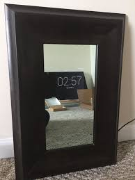 diy distressed antique mirror man vs pin 4 you clipgoo two way mirror w tv in scottsdale