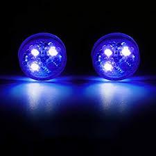SELUXU <b>2x</b> Universal <b>Car Door</b> LED Opened <b>Warning</b> Flash Light ...