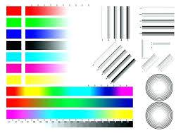 Color Printer Test Page Pdf Laser Print Colour For Download Downlo