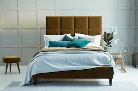 modern upholstered bed. Beatrice Modern Upholstered Bed