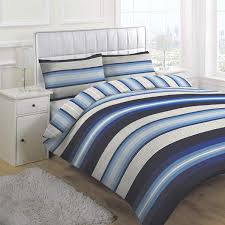 linens limited retro stripe duvet cover set